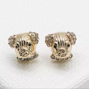 Kate Spade   Pavé Puppy Stud Earrings